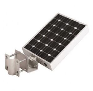 Tete lampadaire autonome solaire