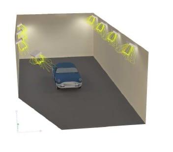 Eclairage de chambre climatique 30 c 40 c par projecteur for Chambre climatique