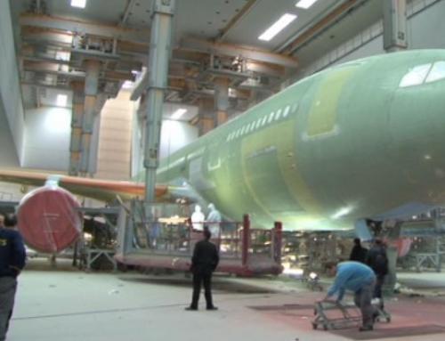 Eclairage ATEX de cabine de peinture aéronautique