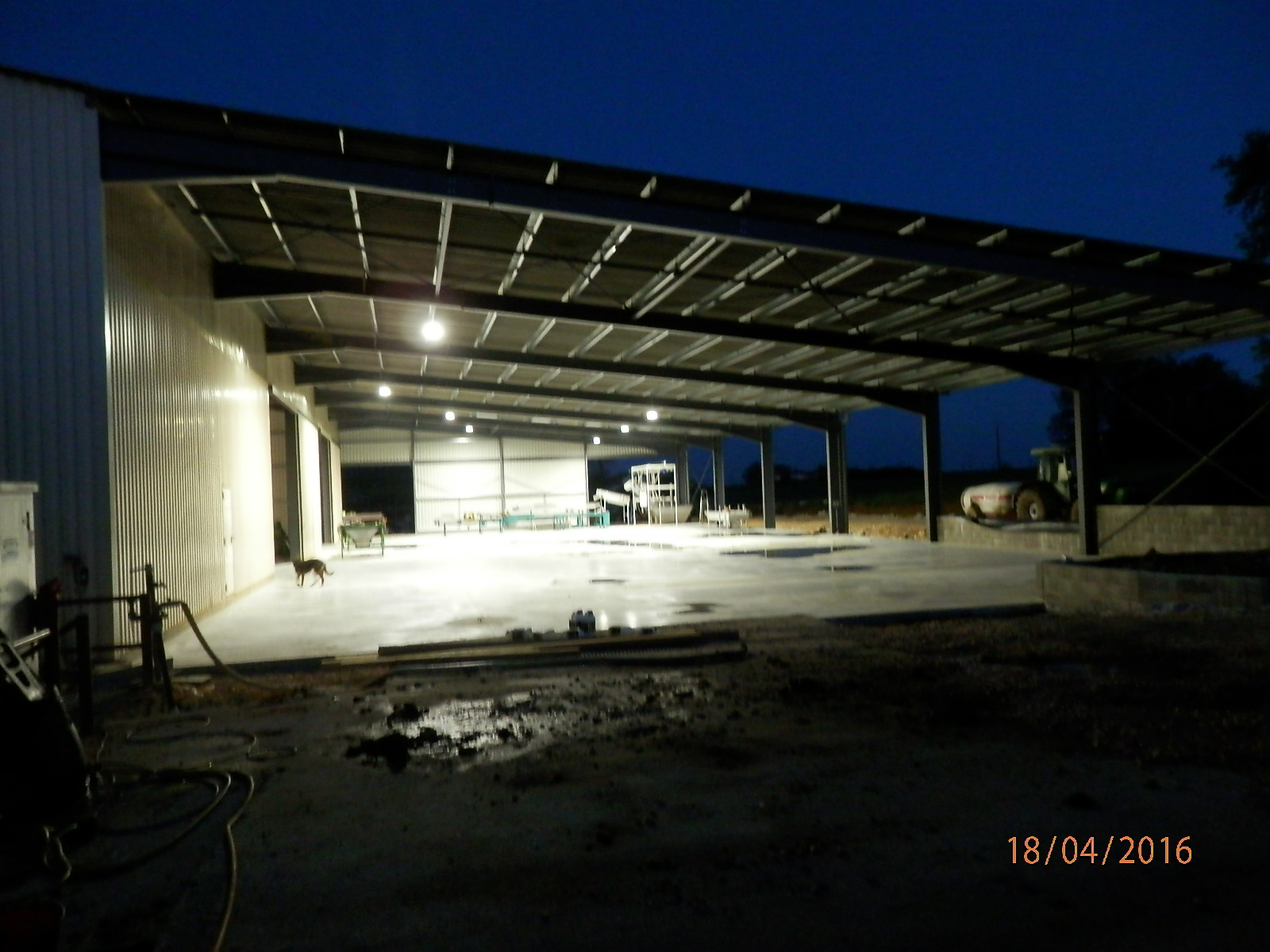 eclairage hangar agricole eclairage industriel led atex. Black Bedroom Furniture Sets. Home Design Ideas