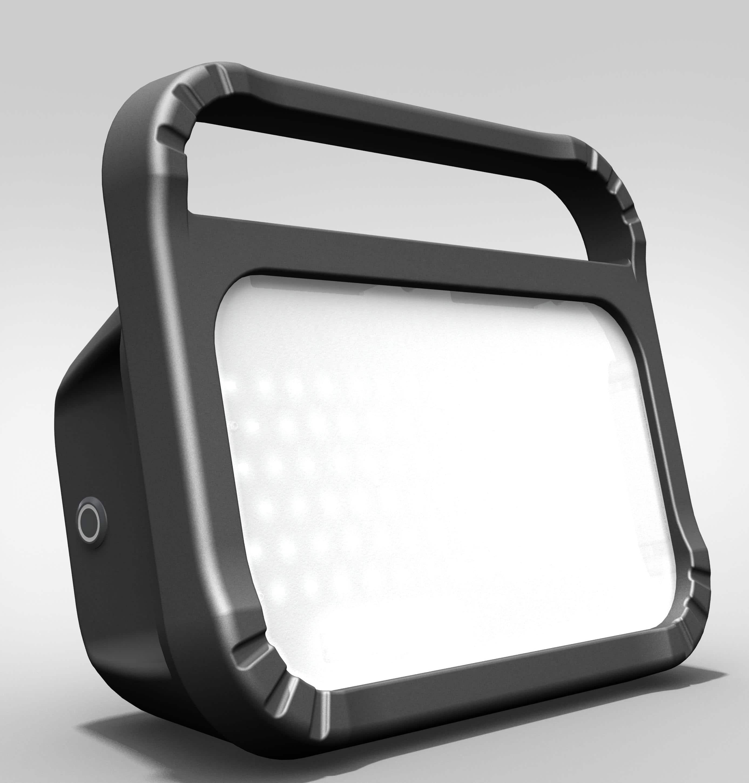 Eclairage Mobile Led De Chantier Autonome