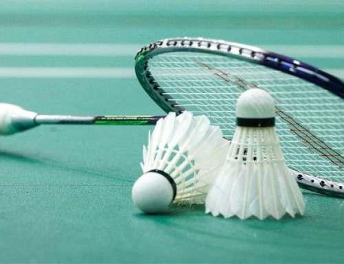 Éclairage LED de terrains de badminton